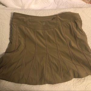 Athleta Beige Tennis Skirt